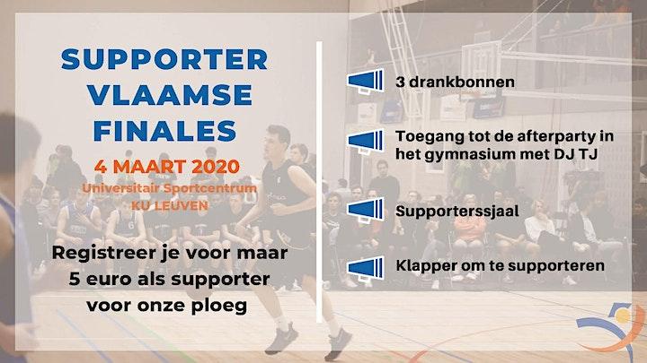 Afbeelding van Vlaamse Finales - Supporter KU Leuven