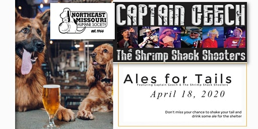 Ales for Tails Featuring Captain Geech & The Shrimp Shack Shooters
