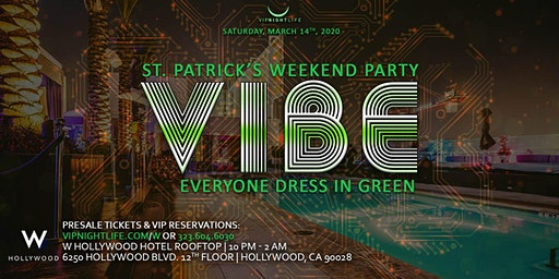 Vibe Get Lucky W Rooftop 2020 Launch Party