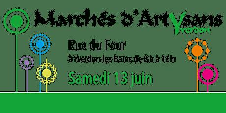 Marché d'été à la Rue du Four  (13.06.20) billets