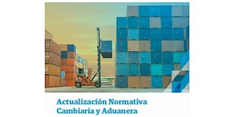 Actualización Normativa Cambiaria y Aduanera entradas