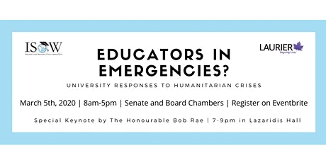 Bus Transportation to the Educators in Emergencies? Conference tickets