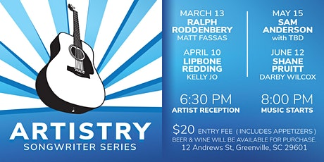 Artistry Songwriter Series - Featuring Lipbone Redding with Kelly Jo tickets