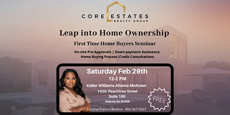 Leap into Home Ownership tickets