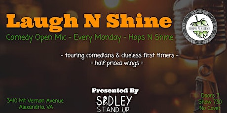 Hops N Shine Open Mic Night [stand-up comedy] tickets
