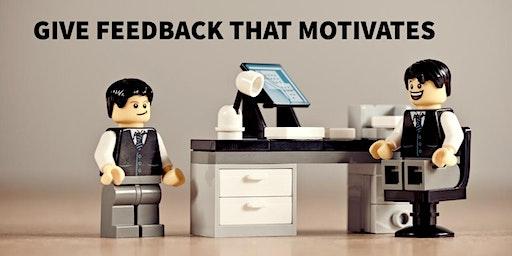 Hoe feedback te geven die motiveert