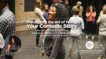 Discovering the Art of Telling Your Comedic Story 4-Part Writing Workshop tickets