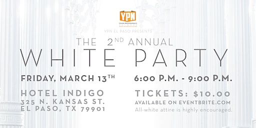 YPN 2nd Annual White Party