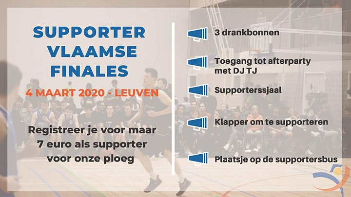 Afbeelding van Vlaamse Finales - Supporter KDG Hockey