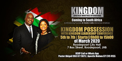 Kingdom Possession with Kingdom Leadership Conference