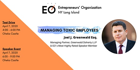 EO Long Island Test Drive & Managing Toxic Employees by Joel Greenwald tickets