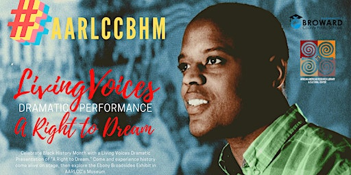 #AARLCCBHM: Living Voices Dramatic Performance