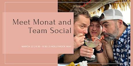 Meet Monat and Team Social tickets