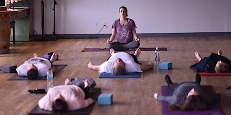 Find Your Balance at Counterweight Brewing (yoga then beer!) on March 1 tickets