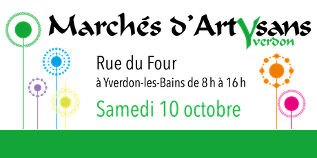 Marché d'été à la Rue du Four  (10.10.20) billets