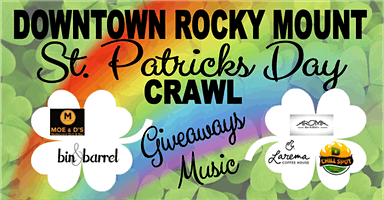 Downtown Rocky Mount St. Patrick's Day Crawl