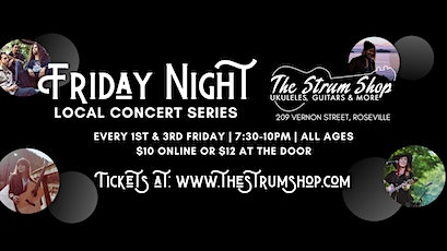 The Strum Shop Local Concert Series tickets