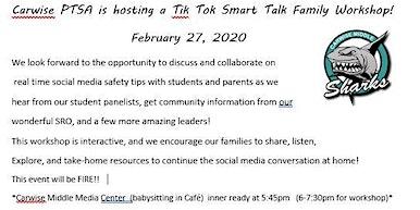Tik Tok Smart Talk Family Workshop