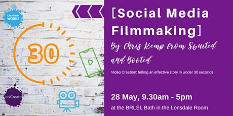 [Social Media Filmmaking] a workshop with Chris Kemp tickets