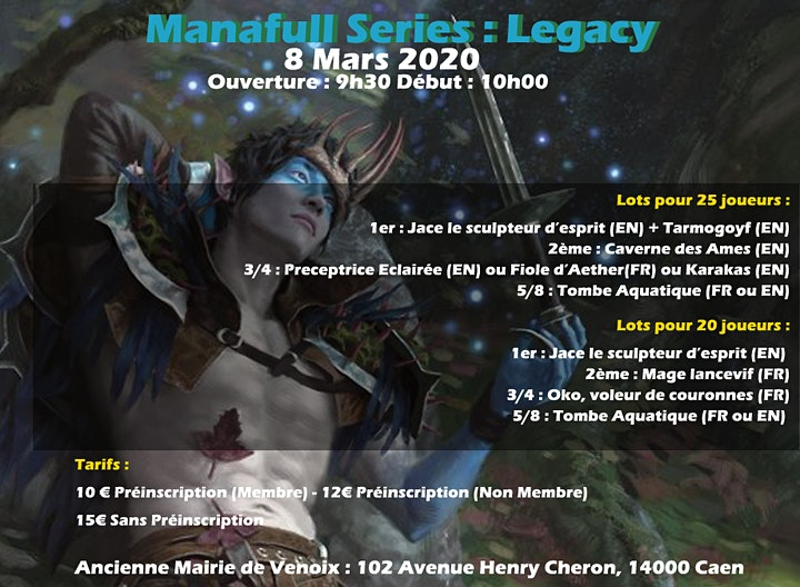 Image pour Legacy Manafull Challenge
