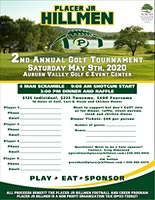 Placer Jr. Hillmen Annual Golf Tournament