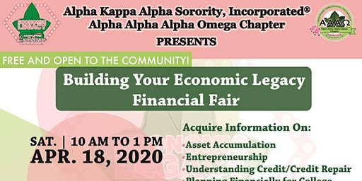 Building Your Economic Legacy Financial Fair