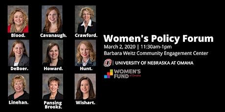 Women's Policy Forum tickets