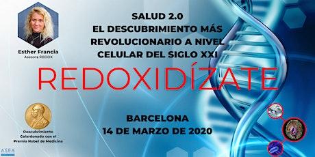 SALUD 2.0, EL DESCUBRIMIENTO MÁS REVOLUCIONARIO DEL SIGLO XXI (BARCELONA) entradas
