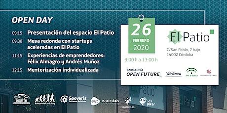 ¡Ven a conocer El Patio! Nuevo Open Day en Córdoba entradas