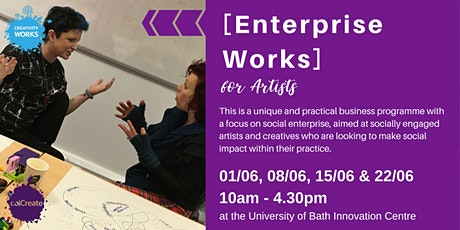 POSTPONED [Enterprise Works]  a Business Course for Artists tickets