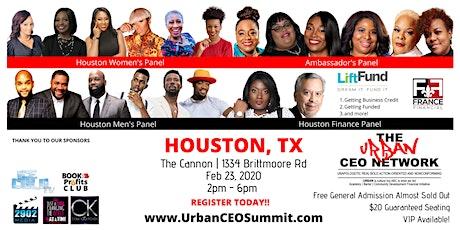 Urban CEO Summit [Houston TX] (Free Food & Plenty of Parking) tickets