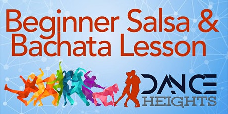 Beginner Salsa and Bachata Lesson tickets