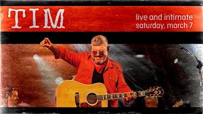 Tim Live & Intimate tickets