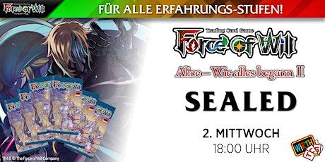 """Force of Will: Sealed """"Alice - Wie alles begann II"""" Tickets"""