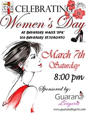 "Women's Day at Beverley Halls (aka ""SPK"") - Socializing and Dance tickets"
