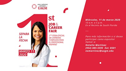 UAGM South Florida 1st Career & Job Fair for the Hispanic Professionals tickets