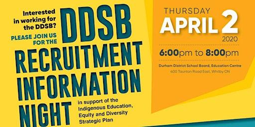 Durham District School Board Recruitment Information Night