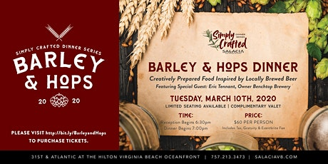 Simply Crafted - Barley and Hops tickets