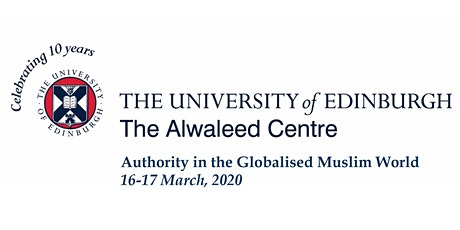 Authority in the Globalised Muslim World tickets