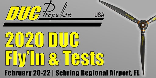 Copy of DUC Propellers USA Fly in & Test a  Propeller Free of Charge