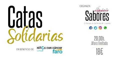Catas Solidarias - 20 de Marzo entradas