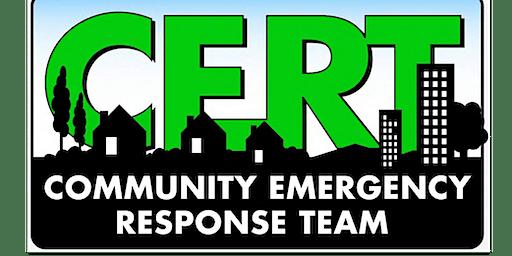 CERT Training for NEW Members!