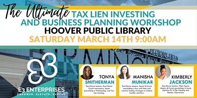 The Ultimate Tax Lien Investing And Business Planning Workshop