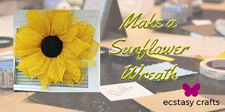 Make a Sunflower Wreath  tickets