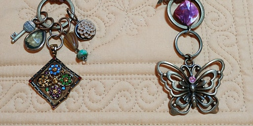 CRAFTING: Key Ring Necklaces with Maureen Tillman