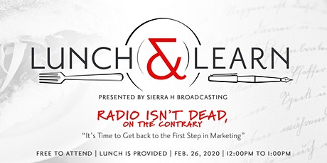 Radio Isn't Dead, on the Contrary! tickets