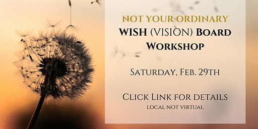 Not just another Vision Board Workshop (Create Your Life)