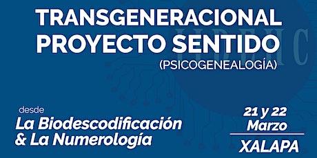 Transgeneracional, Proyecto Sentido biglietti