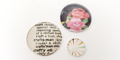 CRAFTING: Glass Cabochon Magnets with Caitlin Jackson