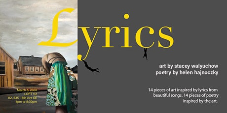 Lyrics - Art by Stacey Walyuchow and poetry by Helen Hajnoczky tickets